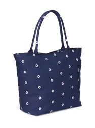 Old Navy Patterned Canvas Tote